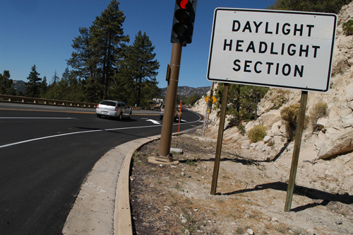 daylight headlight zone