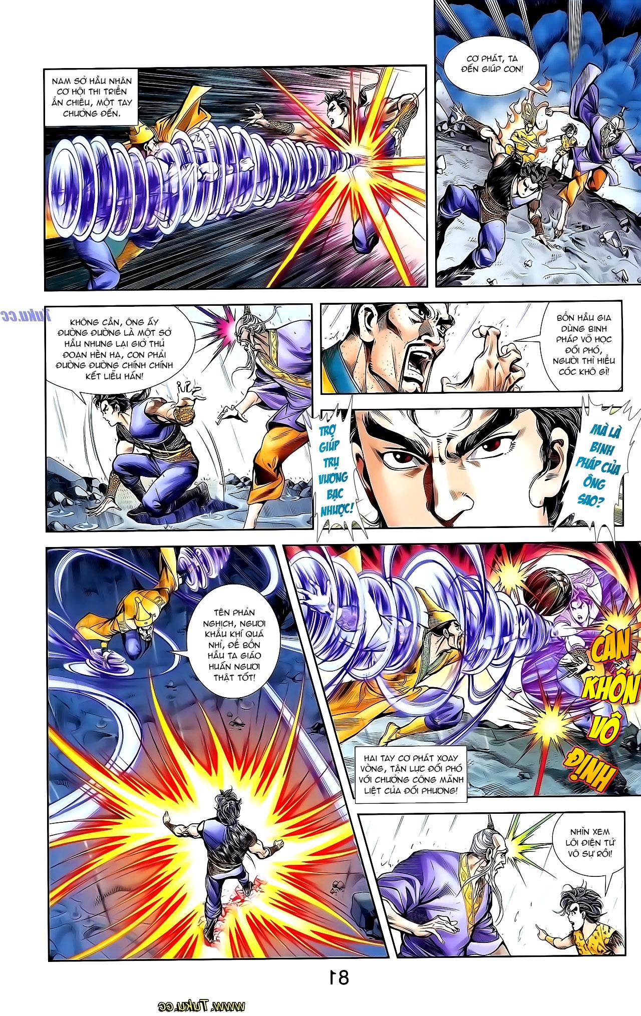 Cơ Phát Khai Chu Bản chapter 131 trang 21
