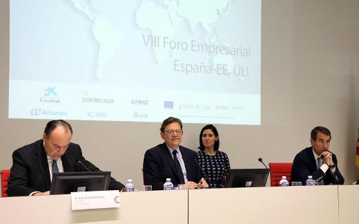 Inauguración del VIII Foro Empresarial España-EEUU