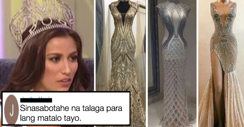 Miss Philippines Rachel Peters Evening Gown Photos For Miss Universe ...