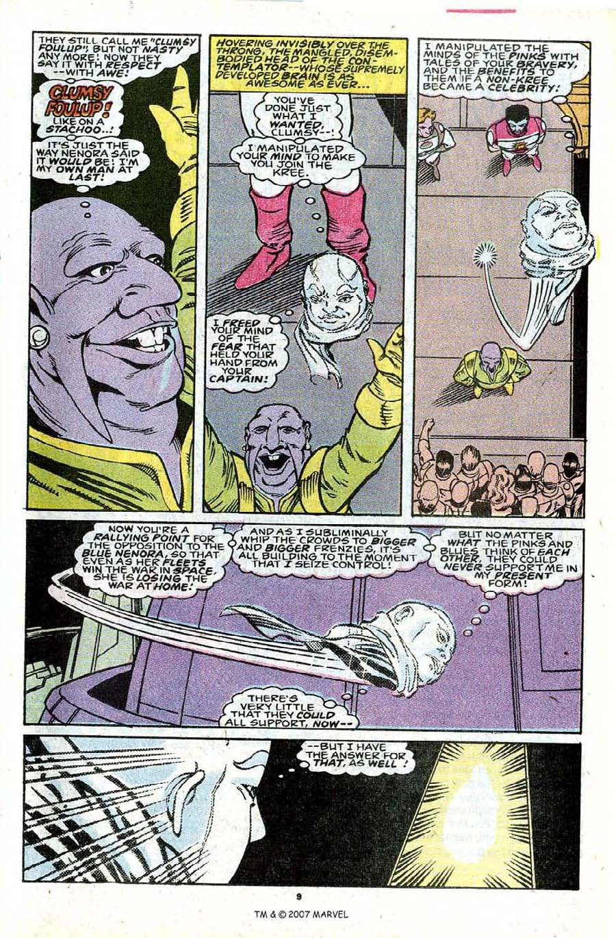 Read online Silver Surfer (1987) comic -  Issue #30 - 11
