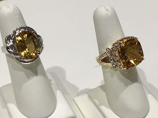 Citrine Rings - November Birthstone