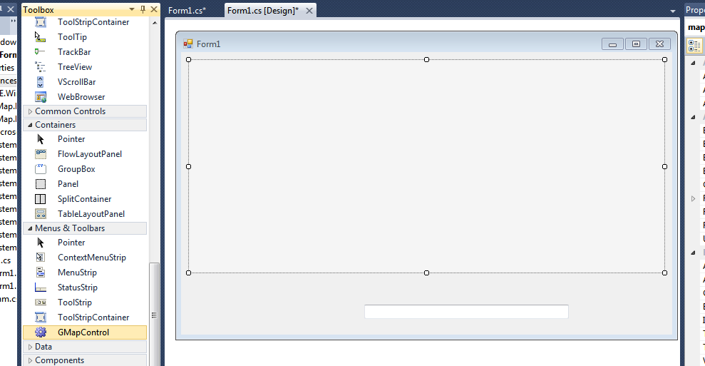 My Activities: A simple example of Gmap net with c#