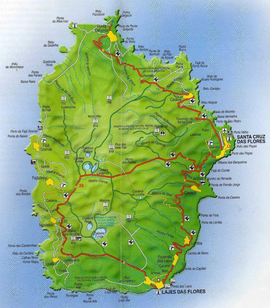 mapa ilha flores Núcleo Filatélico de Angra do Heroísmo: A Ilha das Flores mapa ilha flores