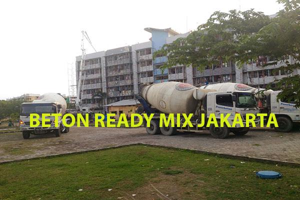 HARGA BETON READY MIX JAKARTA 2021