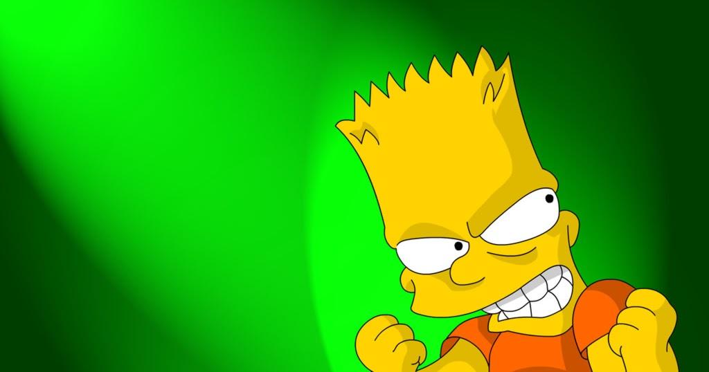 Capitan futuro lucca tambellini come bart simpson - Bart simpson nu ...