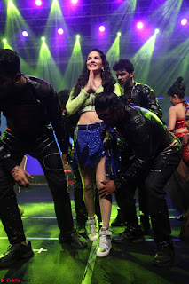 Sunny Leone Dancing on stage At Rogue Movie Audio Music Launch ~  114.JPG