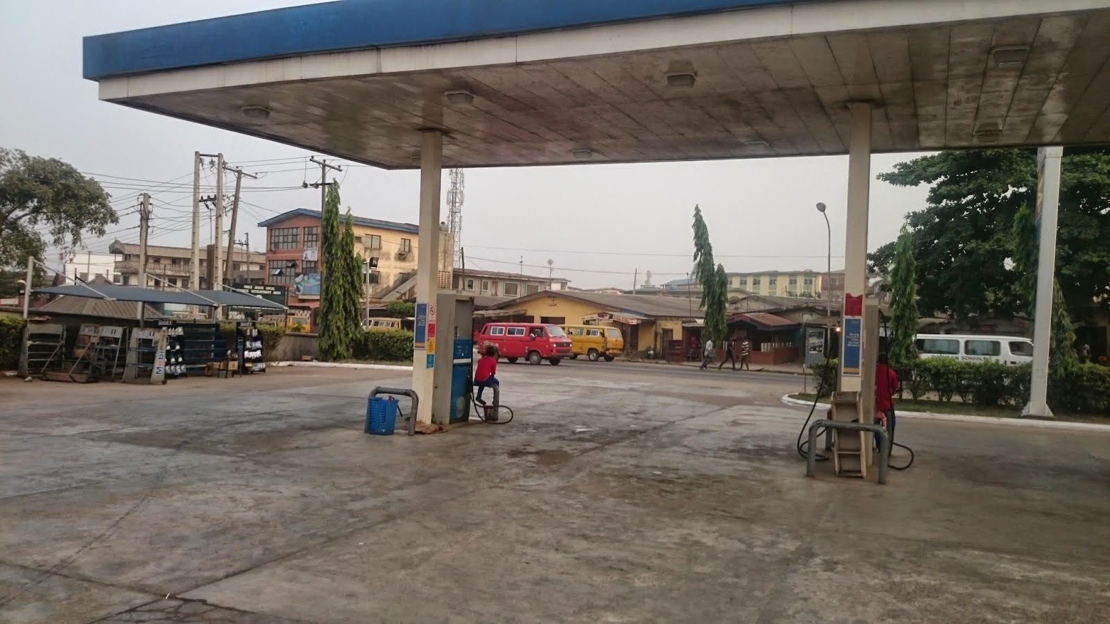 Mobil Filling Station, Ipaja Road, Lagos