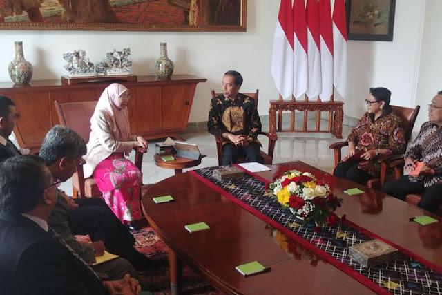 Bertemu Deputi PM Malaysia, Presiden Jokowi Berima Kasih Atas Bantuan Atasi Bencana