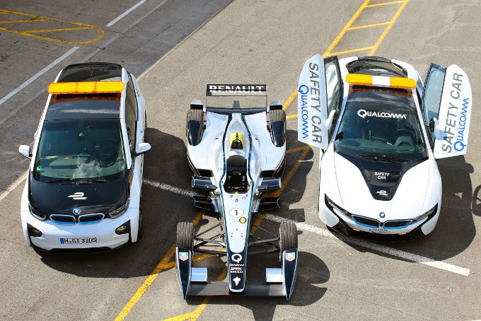 Bmw Formula E Course Cars To Be Equipped With Qualcomm Wireless