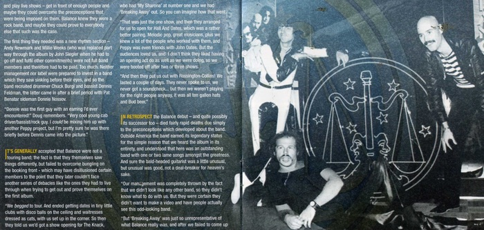 BALANCE - Balance [Rock Candy Remastered & Reloaded] booklet