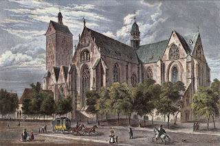 Ilustración de la Catedral de Paderborn