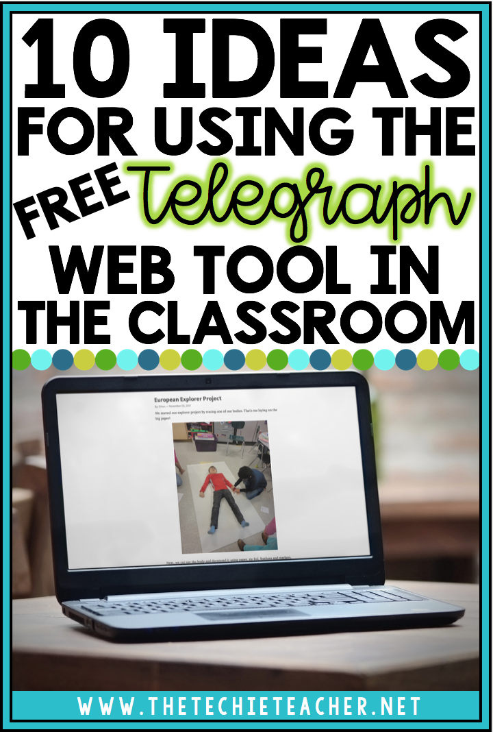 Easily create simple websites with the free web tool, Telegraph! Come read about 10 ways you can use the digital tool in the classroom. No logins required!