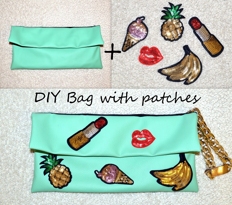 diy bag with patches easy
