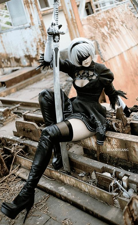 2b cosplay misa chiang
