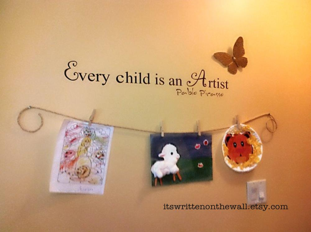 Creative Ways To Display Quotes: It's Written On The Wall: {Gotta See} Fun Way To Display