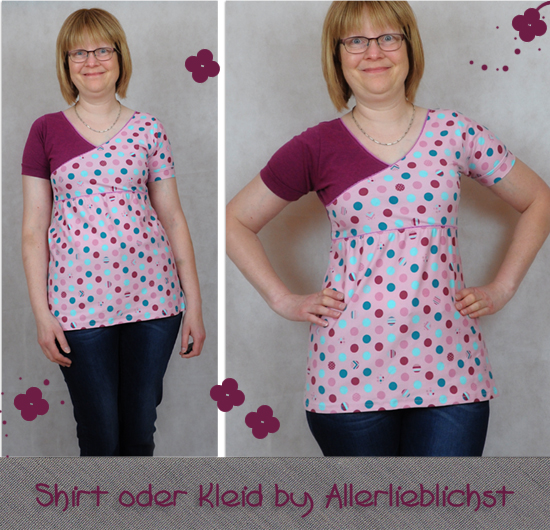Shirt oder Kleid by Allerlieblichst