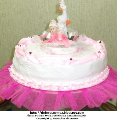 Foto de Torta para niña de Baby Shower por Jesus Gómez