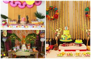 Decoração Festa Moana Ideias e Como Fazer
