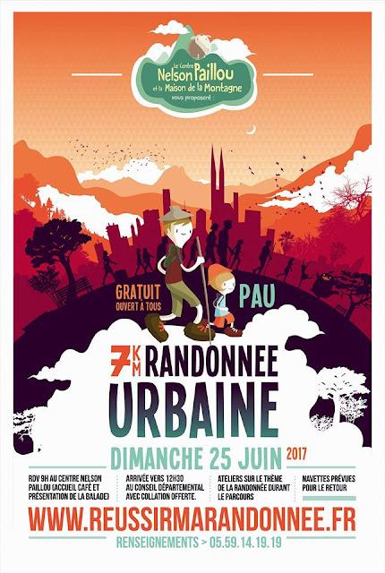 pau : RANDONNEE URBAINE