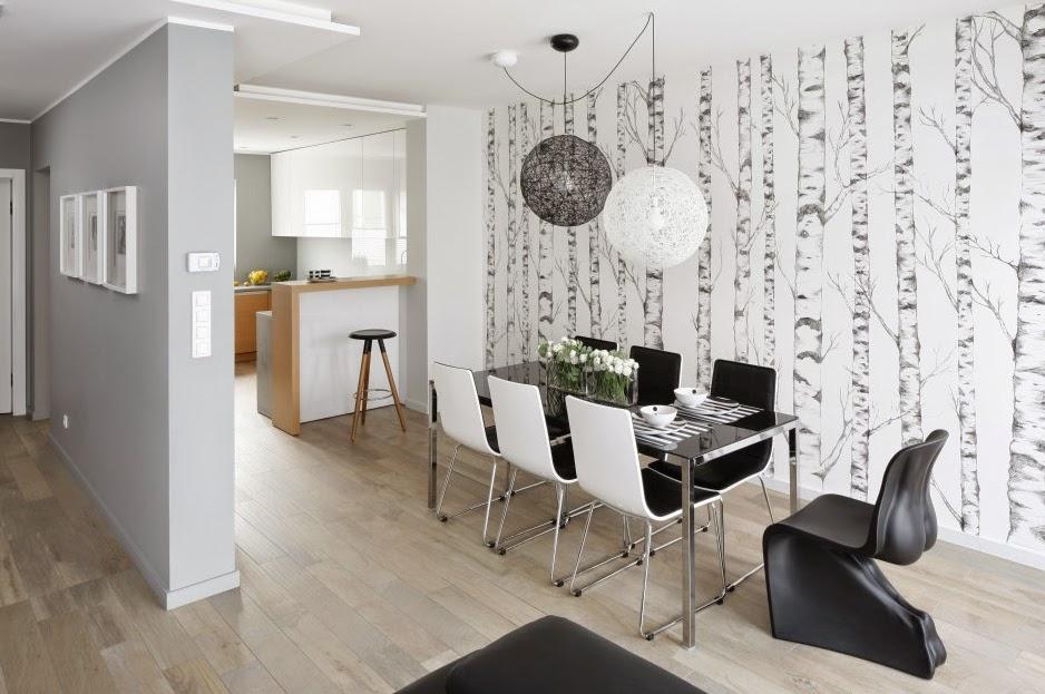 Decoracin de una sala pequea en gris Interior moderno