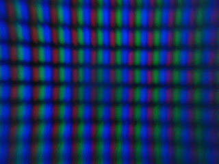 magnified led tv panel