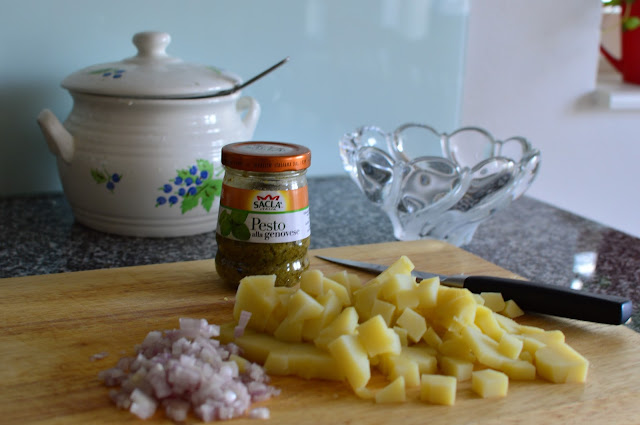 Helppo perunasalaatti