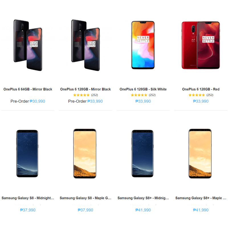 Some of the phones that will be updated to Android Pie at Argomall