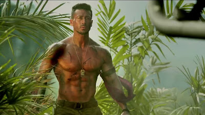 Tiger Shroff Bodybuilding In Baaghi 2 Movie HD Images