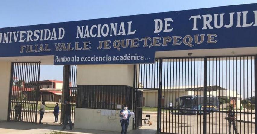 UNT: Universidad Nacional de Trujillo entrega chips de internet a estudiantes para garantizar el buen desarrollo de las clases virtuales