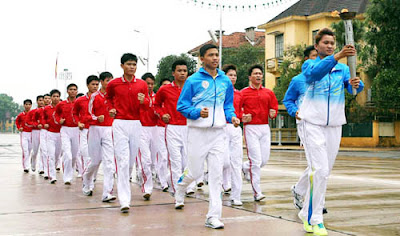 ASEAN Schools Games Torchlight Procession
