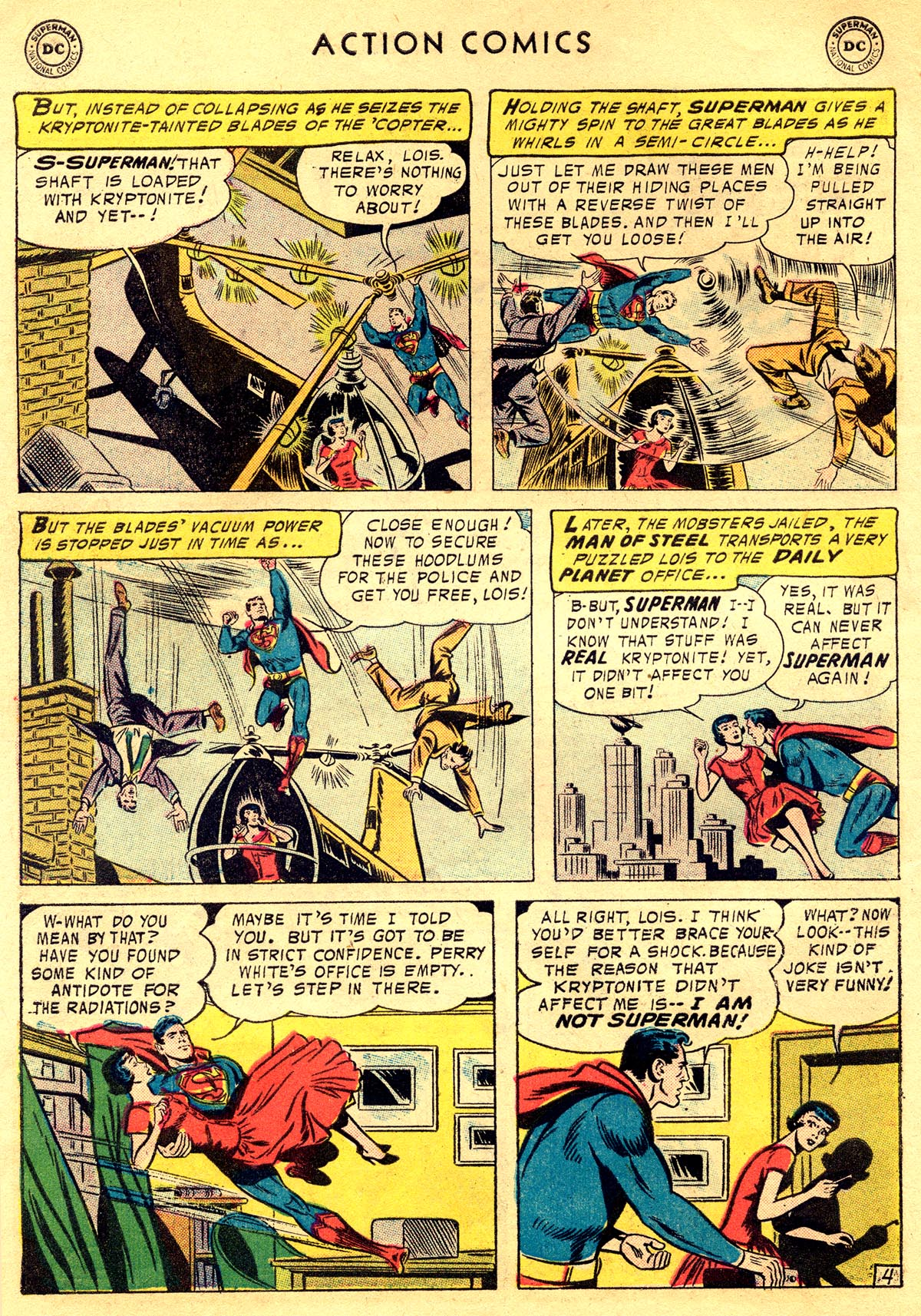 Read online Action Comics (1938) comic -  Issue #225 - 6