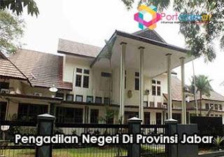 Alamat Pengadilan Negeri Di Jawa Barat