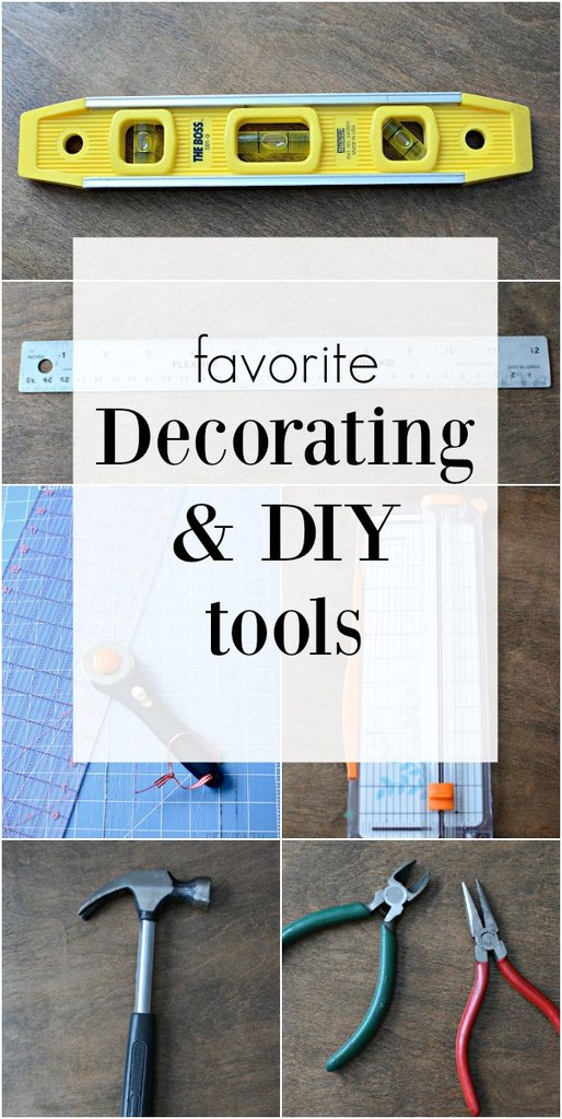 tools for decoration and DIY