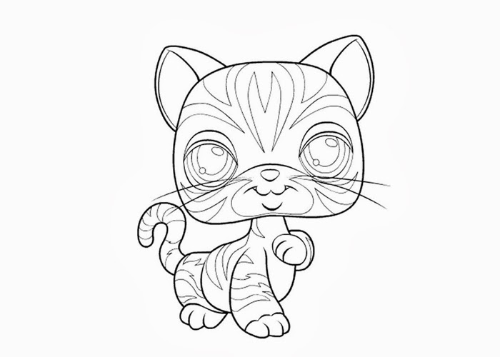 Lps coloring pages peacock ~ Littlest Pet Shop Coloring Pages to Print