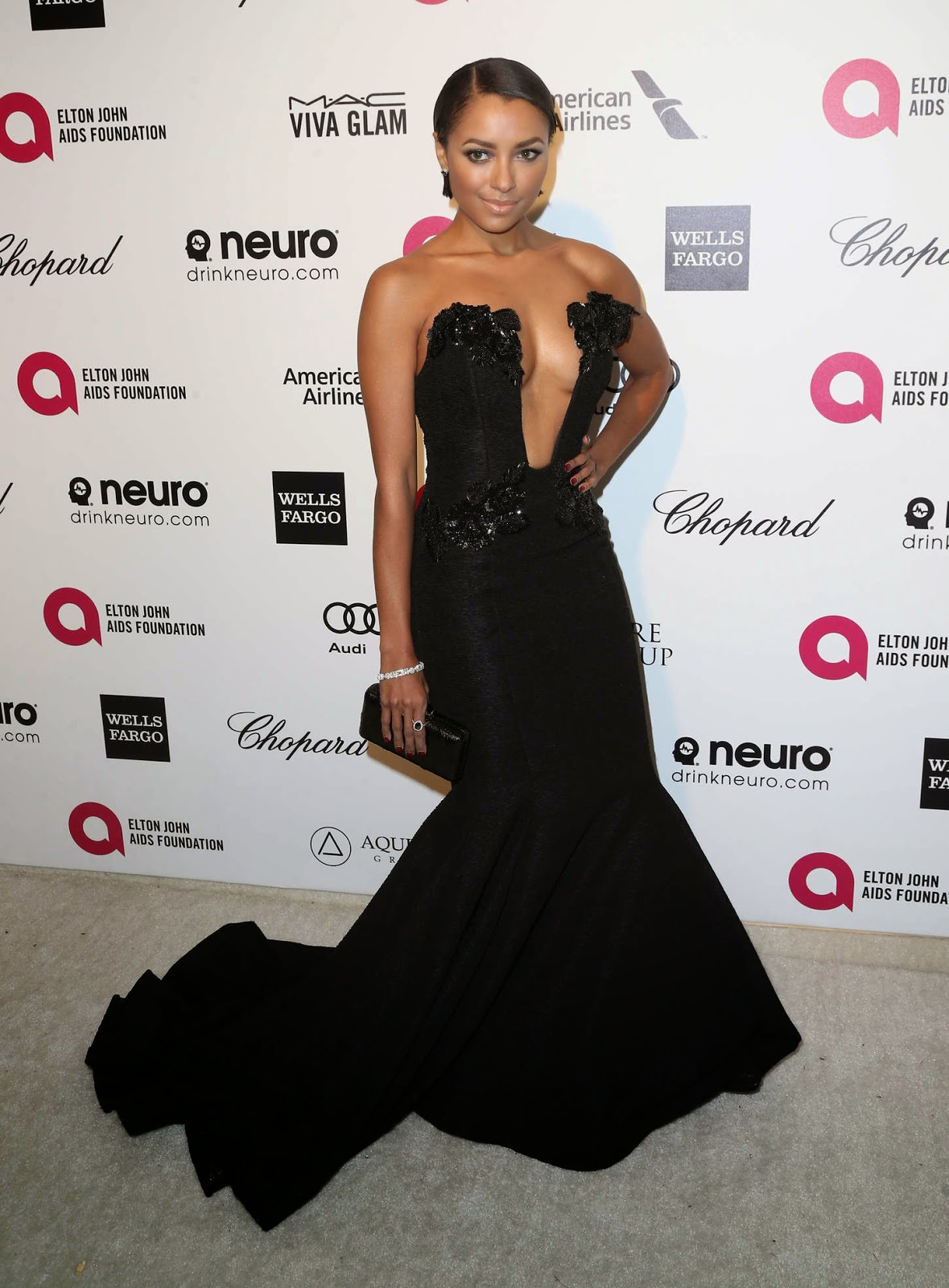 Kat Graham – 23rd Annual Elton John AIDS Foundation Academy Awards Viewing Party in LA