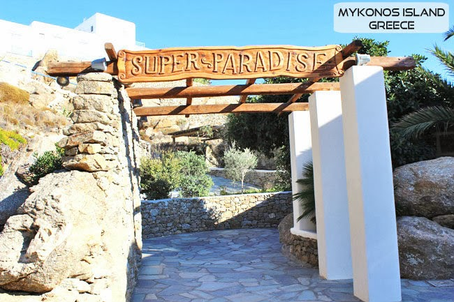 Super Paradise beach bar Mykonos