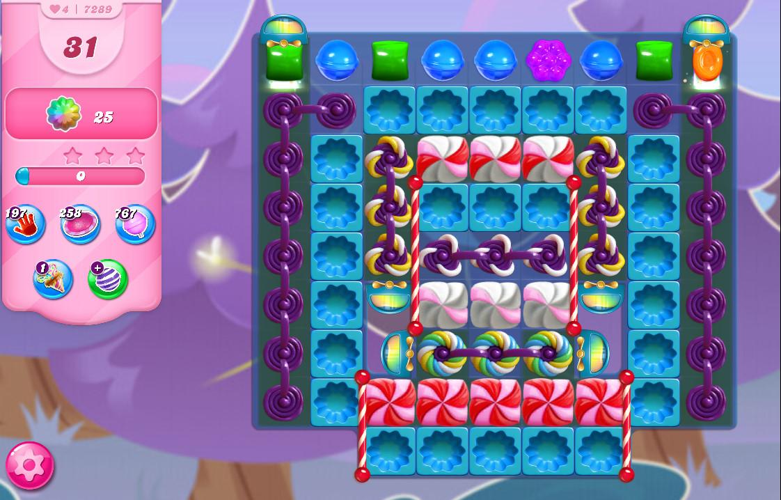 Candy Crush Saga level 7289