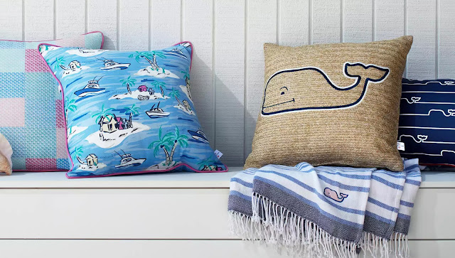 vineyard vines for target lookbook home decor