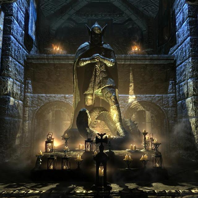 Skyrim: Temple of Talos Wallpaper Engine