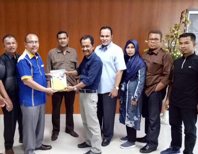 DPRK Aceh Kunker ke DPRD Medan