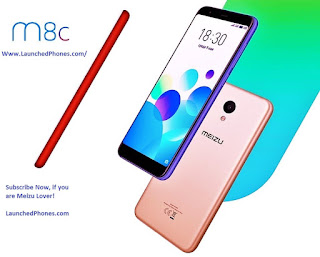 launched inwards the Russian marketplace position every bit the upgrade of Meizu K Meizu novel outcry upward M8c launched inwards Russian Federation