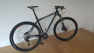 Stolen Bicycle - Cube LTD 29 Blackline