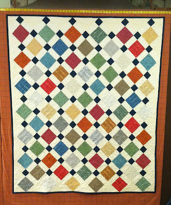 Dressed to the Nines, Disappearing Nine Patch, Charity, Donation Quilt