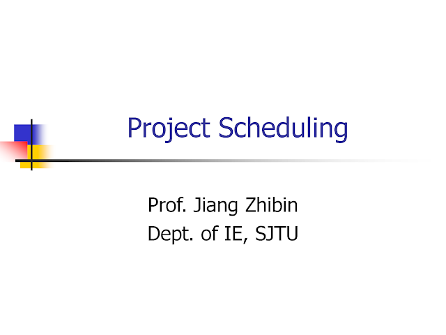 An Introduction to Project Scheduling