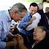 Alfredo del Mazo visita Ecatepec; acude al grupo político Río de Luz