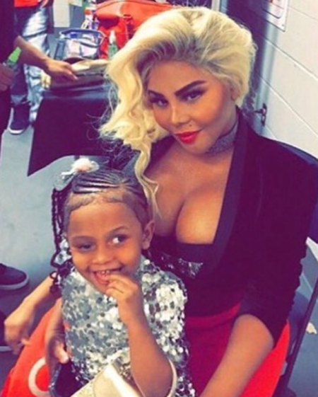 pictures of lil kim daughter