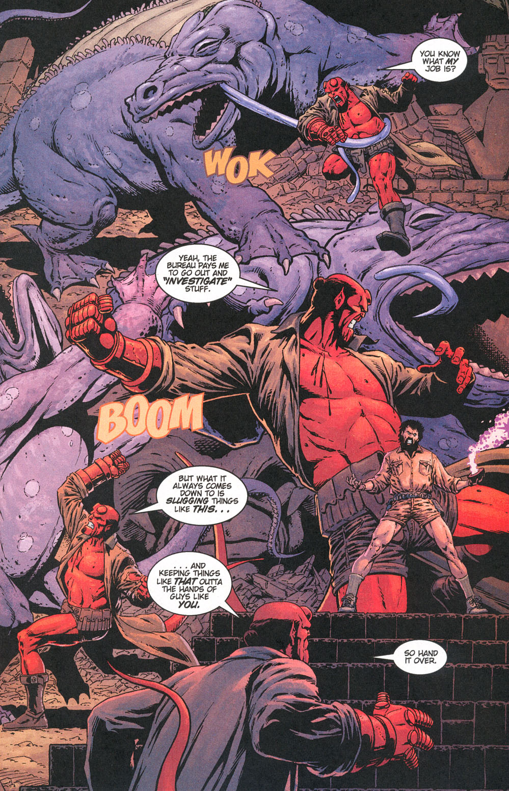 Read online Hellboy: Weird Tales comic -  Issue #5 - 21