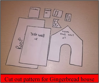 Ridiculous image inside gingerbread house patterns printable