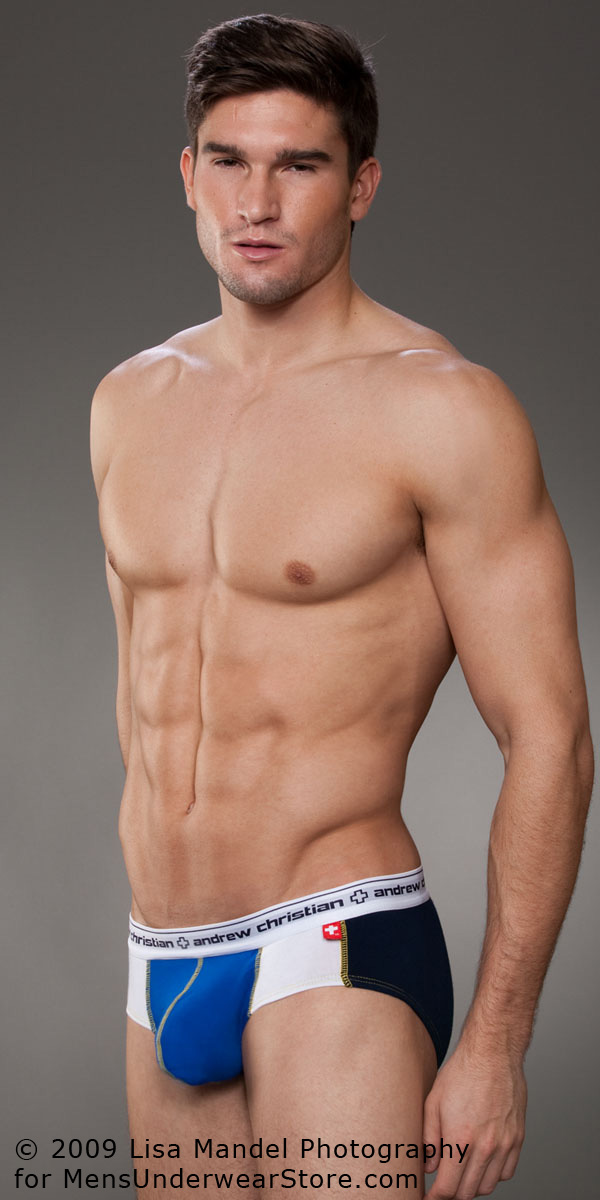 Men Fashion Dresses: The Almost Naked Fusion Brief by